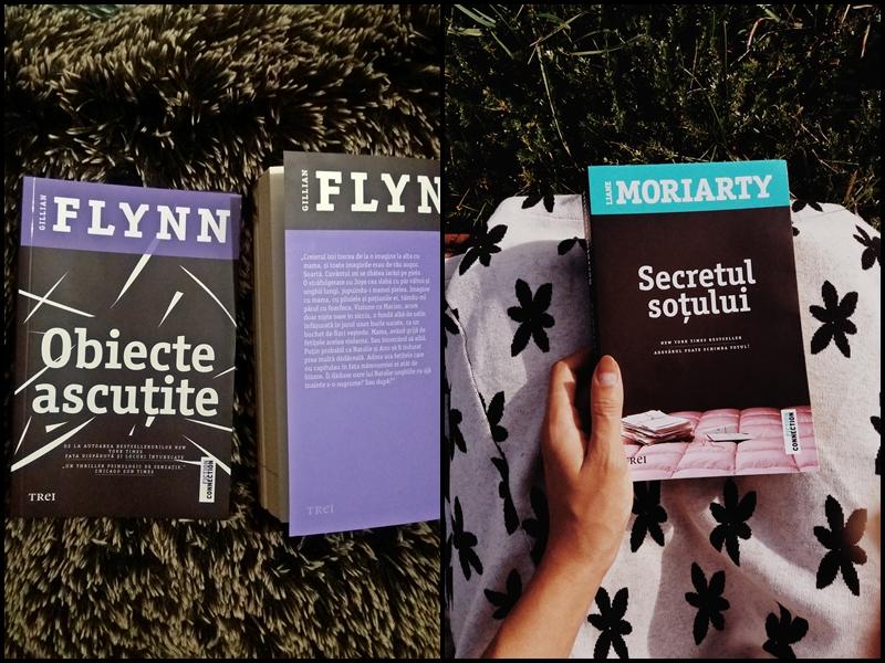 """""""Obiecte ascutite"""" si """"Secretul sotului"""" – doua thrillere captivante despre ce ascund familiile aparent obisnuite"""