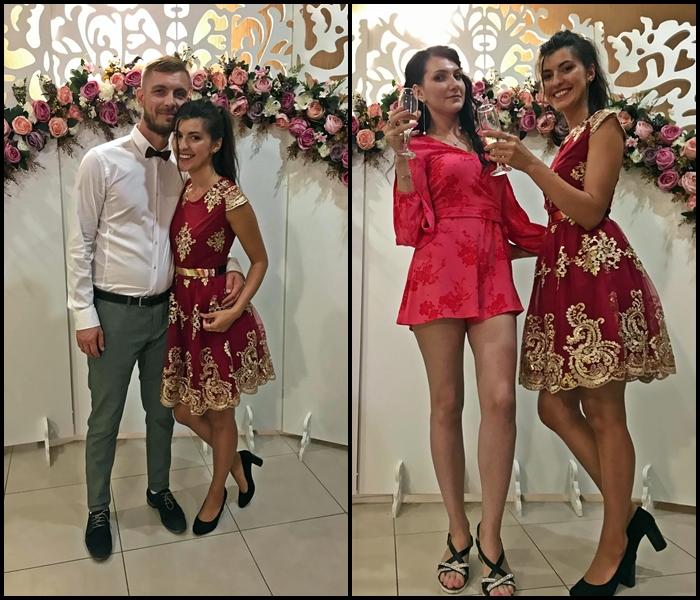 micuta rochie rosie